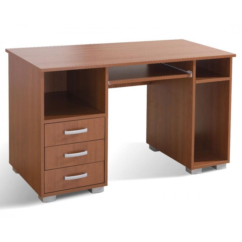 """Γραφείο υπολογιστή """"ANA 3F"""" σε χρώμα κερασί 130x60x75"""