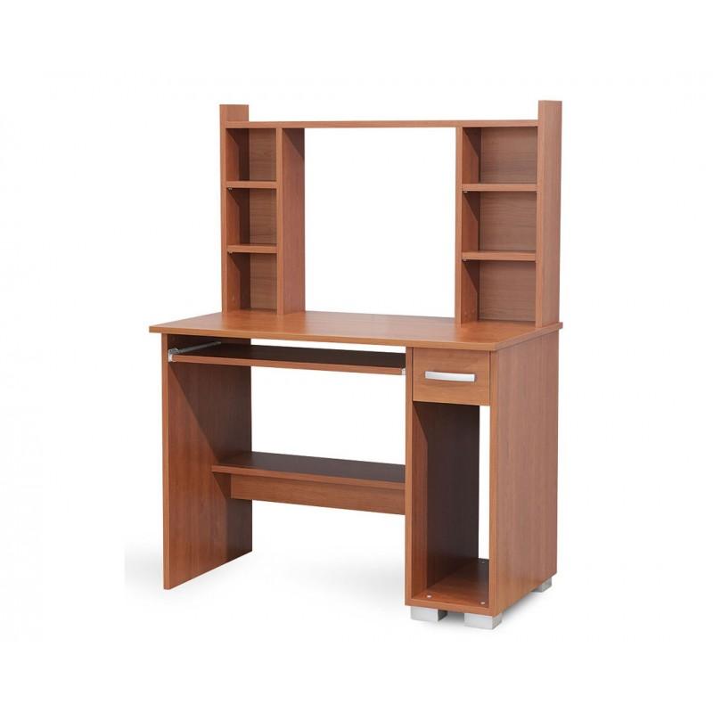 """Γραφείο υπολογιστή """"DIONIS"""" σε χρώμα κερασί 100x55x136"""