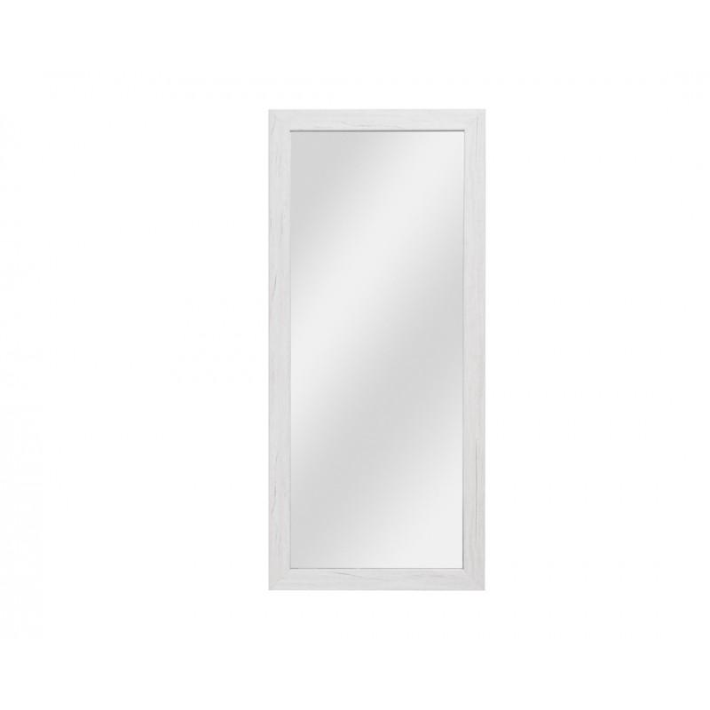 """Καθρέπτης """"APOLON PA-3"""" σε χρώμα λευκό-δρυς 50x1.80x113"""