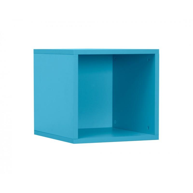 """Ράφι κασέτα """"NUMERO"""" σε χρώμα μπλε 36,5x40x35"""