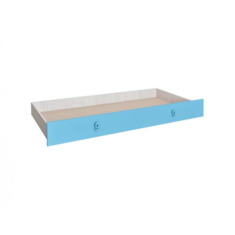 """Συρτάρι κρεβατιού """"NUMERO"""" σε μπλε χρώμα 199,5x94x23"""