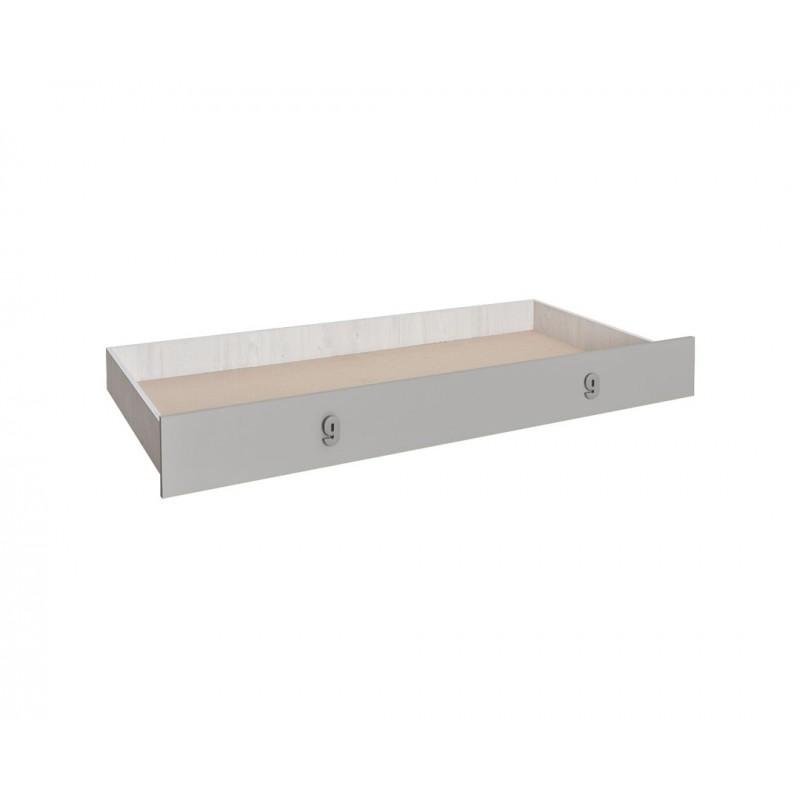 """Συρτάρι κρεβατιού """"NUMERO"""" σε γκρι χρώμα 199,5x94x23"""