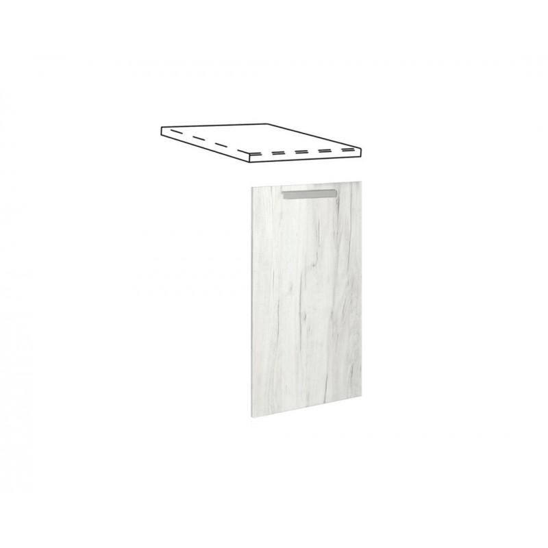 """Καλυπτικό πλυντηρίου πιάτων """"IN"""" σε λευκό δρύς χρώμα 45x55x108"""