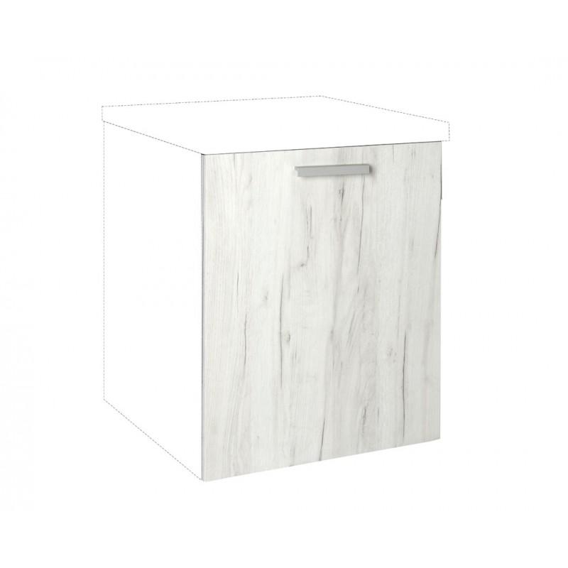 """Καλυπτικό πλυντηρίου πιάτων """"IN"""" σε λευκό δρύς χρώμα 72x55x108"""