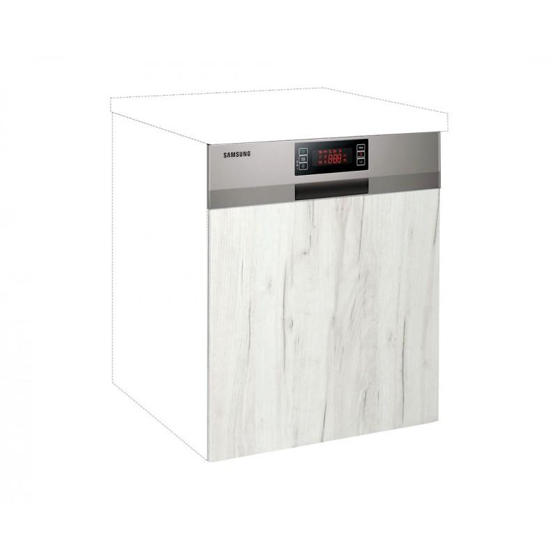 """Καλυπτικό πλυντηρίου πιάτων """"IN"""" σε λευκό δρύς χρώμα 60χ60χ108"""
