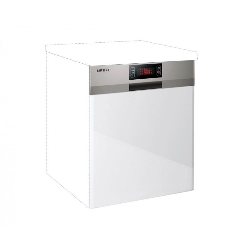 """Καλυπτικό πλυντηρίου πιάτων """"IN MDF"""" σε λευκό γυαλιστερό χρώμα 60χ60χ108"""