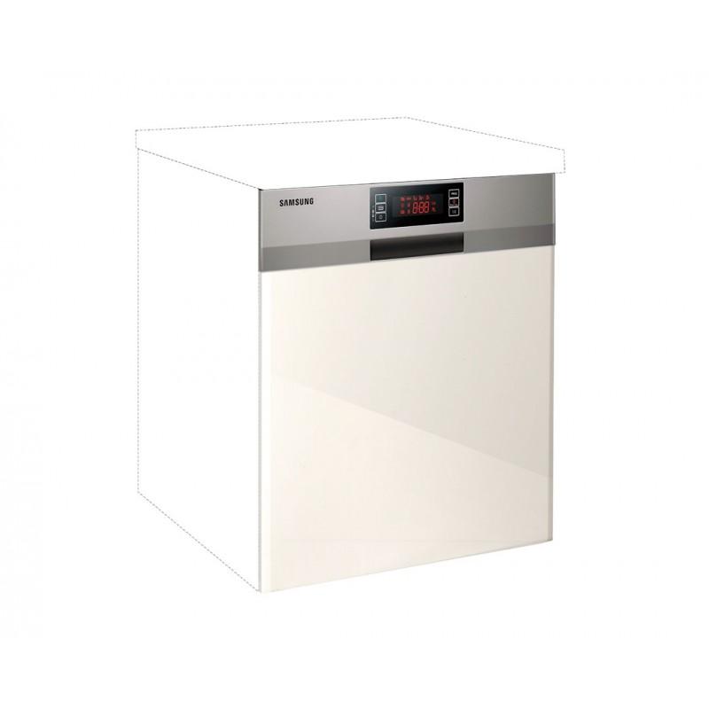 """Καλυπτικό πλυντηρίου πιάτων """"IN MDF"""" σε μπεζ γυαλιστερό χρώμα 60χ60χ108"""