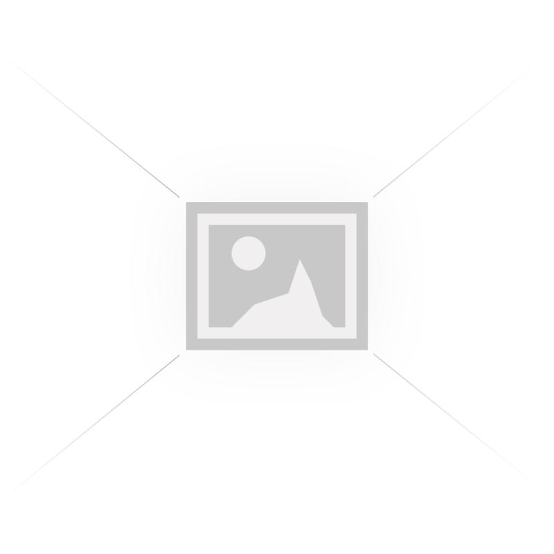 Μονόφωτο φωτιστικό από μέταλλο σε λευκό-χρυσό χρώμα Φ12x16