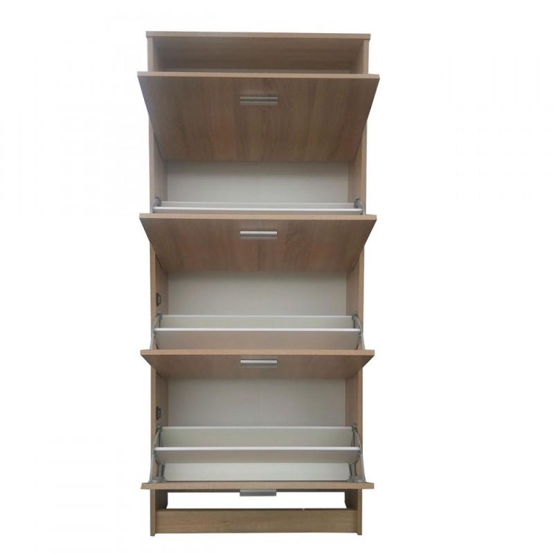 Παπουτσοθήκη sonoma-δρυς 81x25,5x174,5
