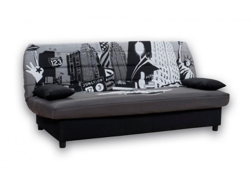 """Καναπές-κρεβάτι """"BROADWAY"""" τριθέσιος υφασμάτινος 185x88x82"""
