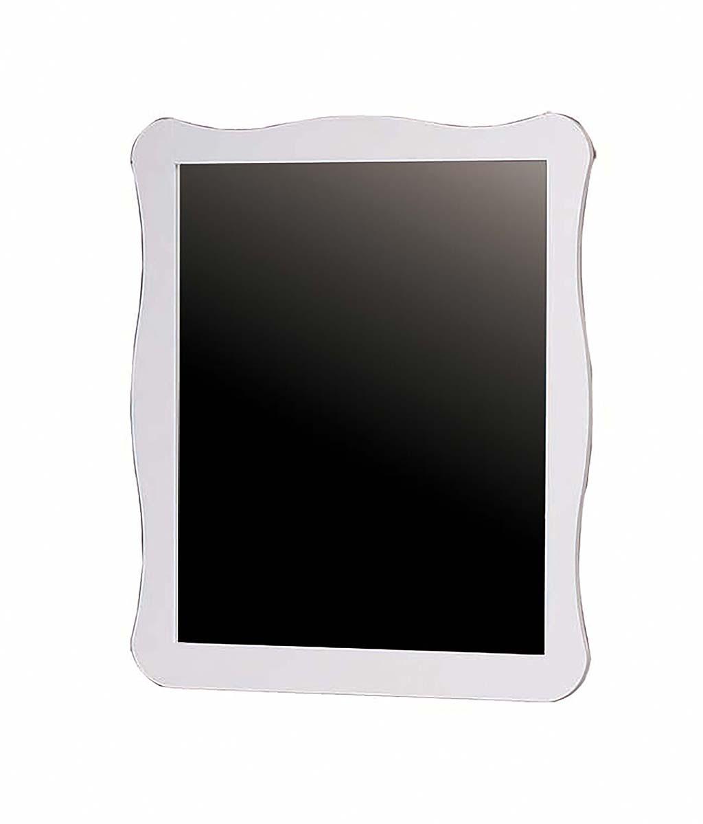 """Καθρέπτης """"NOSTALGIA"""" από ξύλο σε χρώμα λευκό 80x100x2"""