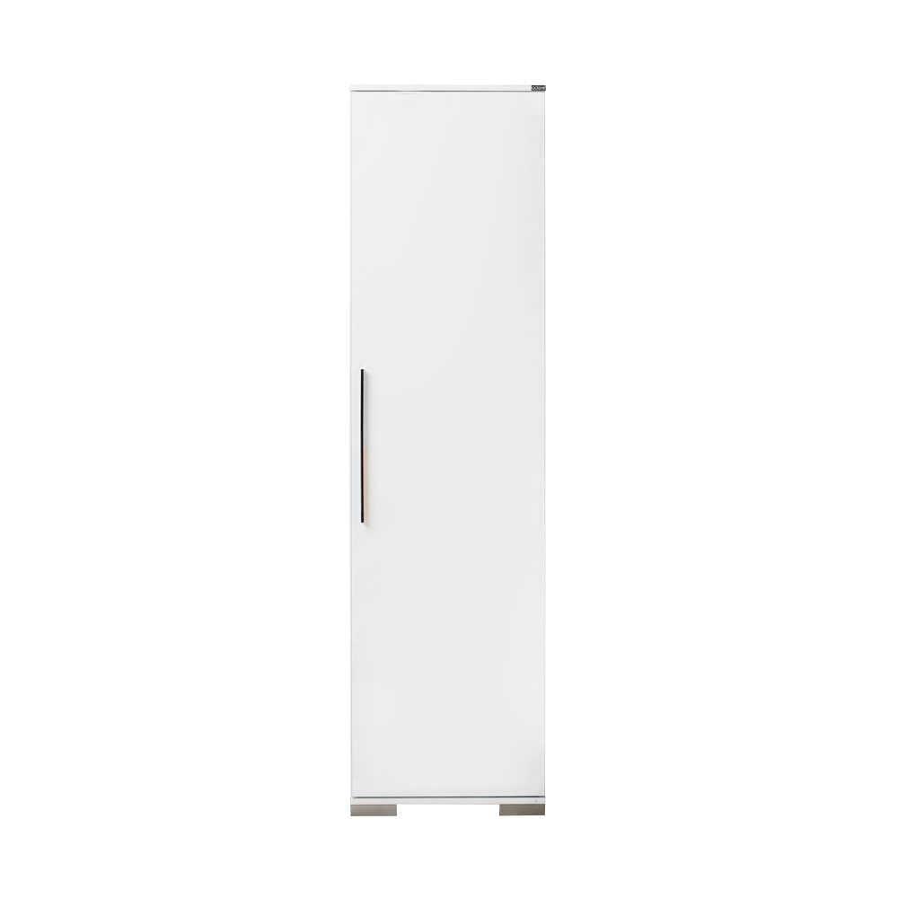 Ντουλάπα-βοηθητικό έπιπλο σε χρώμα λευκό γυαλιστερό 50x35x187