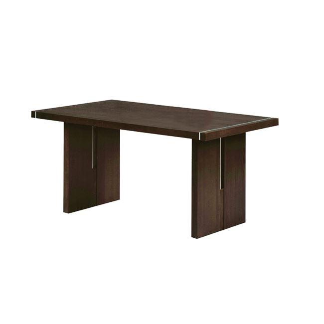 """Τραπέζι """"SAMBER"""" σε χρώμα καρυδί 150x90x75"""