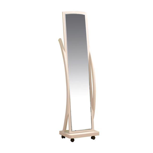 """Καθρέπτης δαπέδου """"ROGER"""" σε φυσικό χρώμα 44x29x165"""