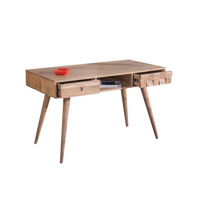 """Κονσόλα """"TEKA"""" από ξύλο ακακία σε φυσικό χρώμα 117x60x76"""