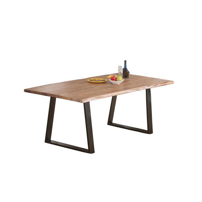 """Τραπέζι """"LIZARD SLIM"""" από ακακία σε φυσικό χρώμα 200x95x75"""