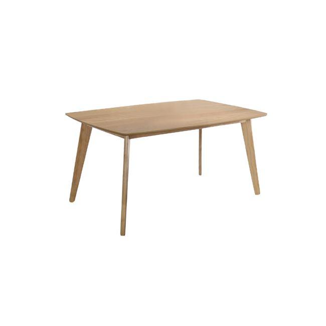 """Τραπέζι """"CALVIN"""" σε χρώμα φυσικό 150x90x75"""