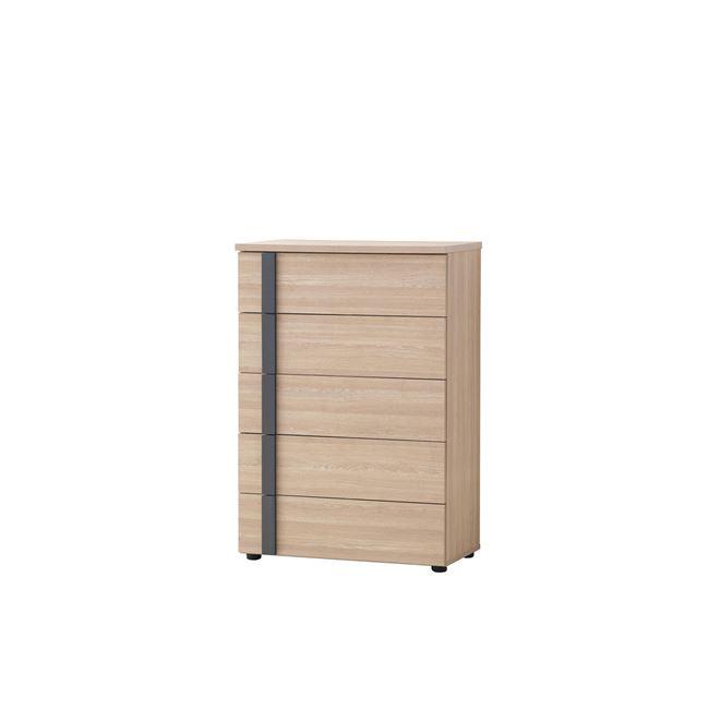 """Συρταριέρα """"SUITE"""" σε χρώμα σονόμα 80x44x116"""