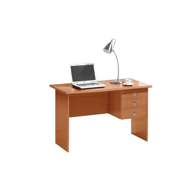 """Γραφείο """"SIGNAL"""" σε χρώμα κερασί 120x60x75"""