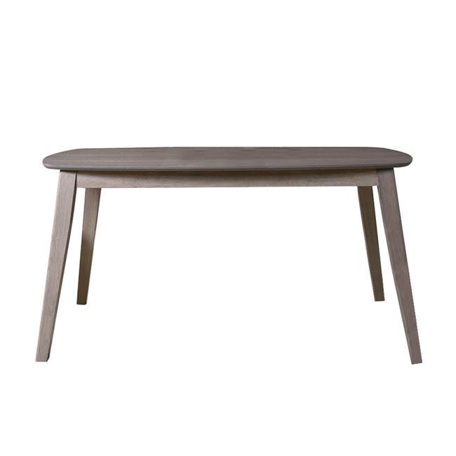 """Τραπέζι φαηγτού """"DOM"""" ξύλινο σε φυσικό χρώμα 160x90x74"""