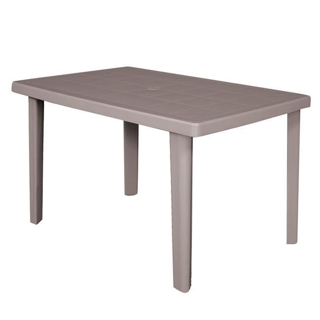 """Τραπέζι """"MARTE"""" από PP σε χρώμα τορτόρα 100x67x72"""