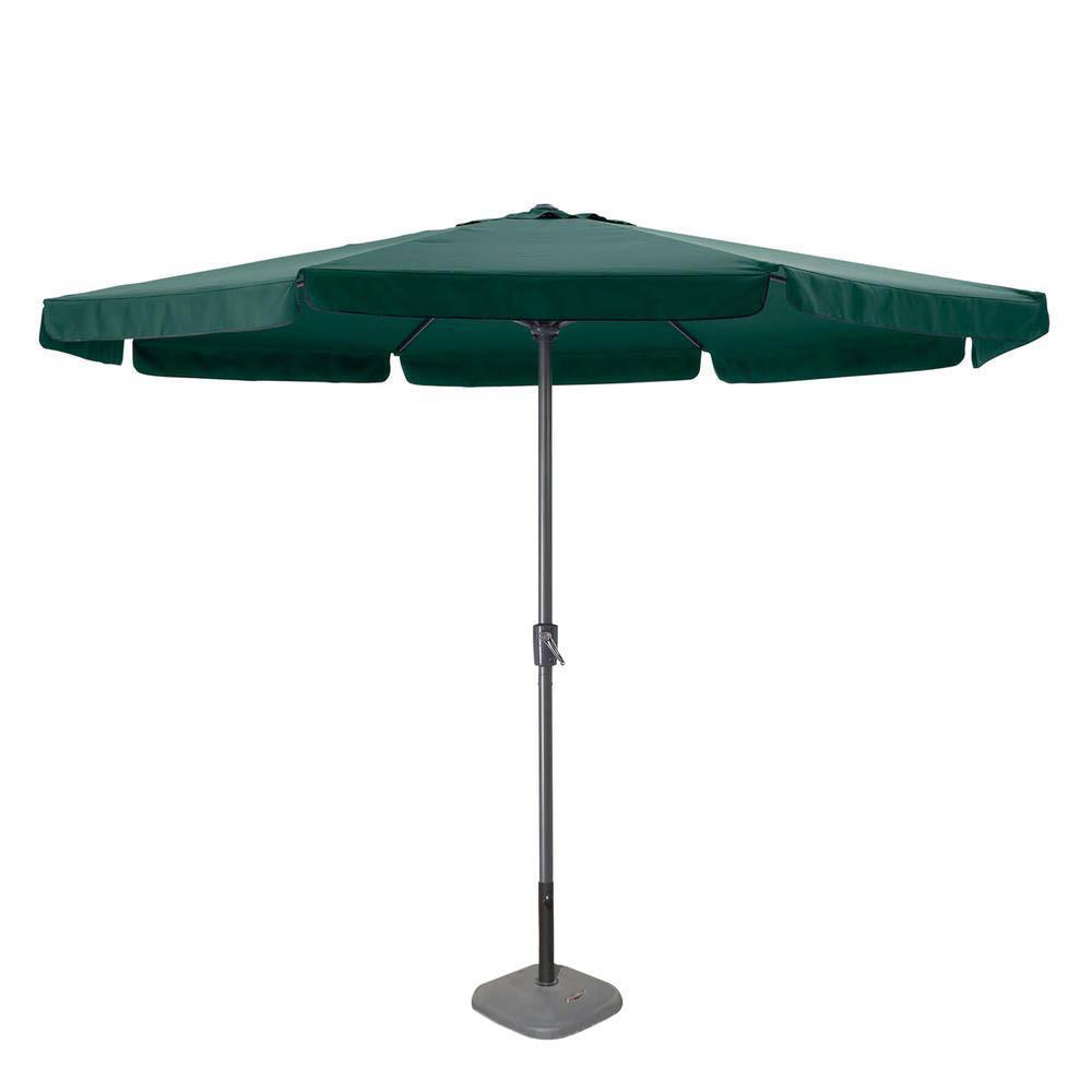Ομπρέλα κήπου από αλουμίνιο/ύφασμα σε χρώμα πράσινο Φ3