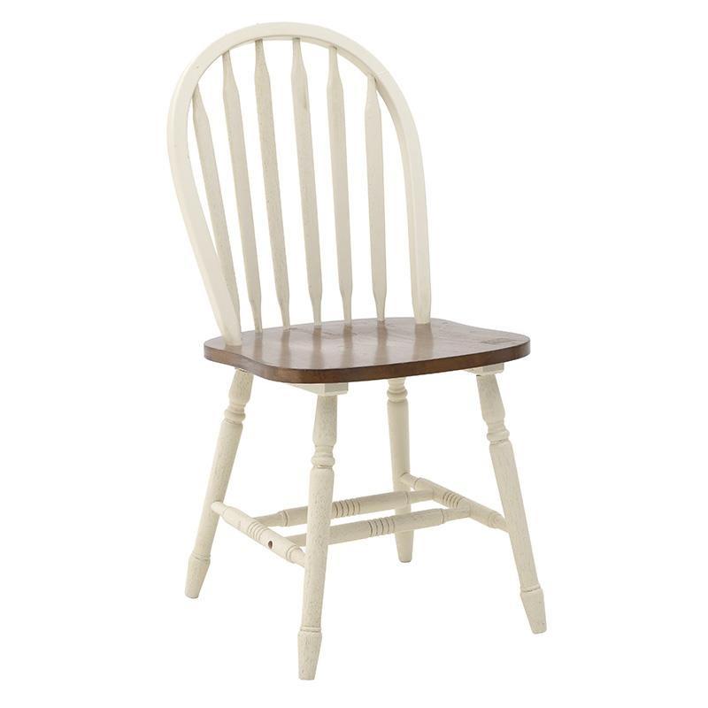 Καρέκλα τραπεζαρίας ξύλινη σε καφέ χρώμα 45x48x93,5