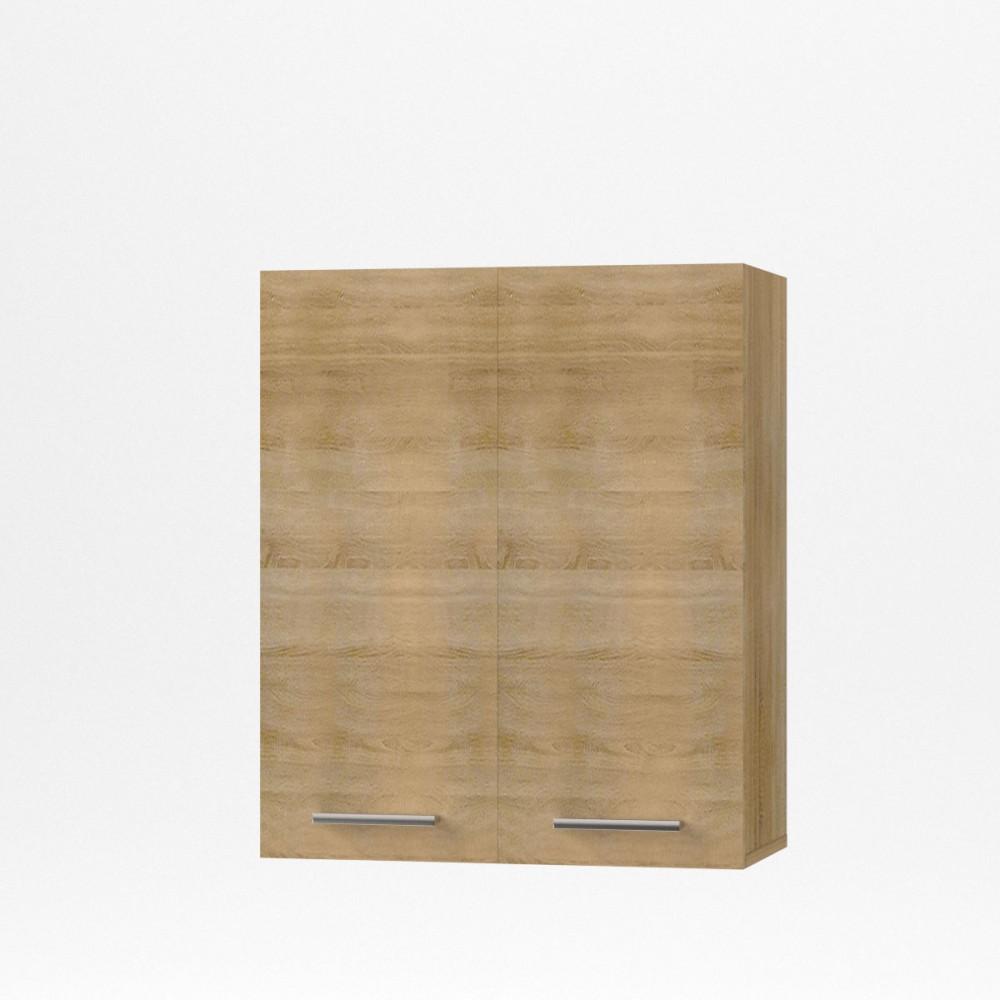 """Πάνω ντουλάπι κουζίνας """"ALINA"""" σε χρώμα σονόμα 60×30,5×71,8"""