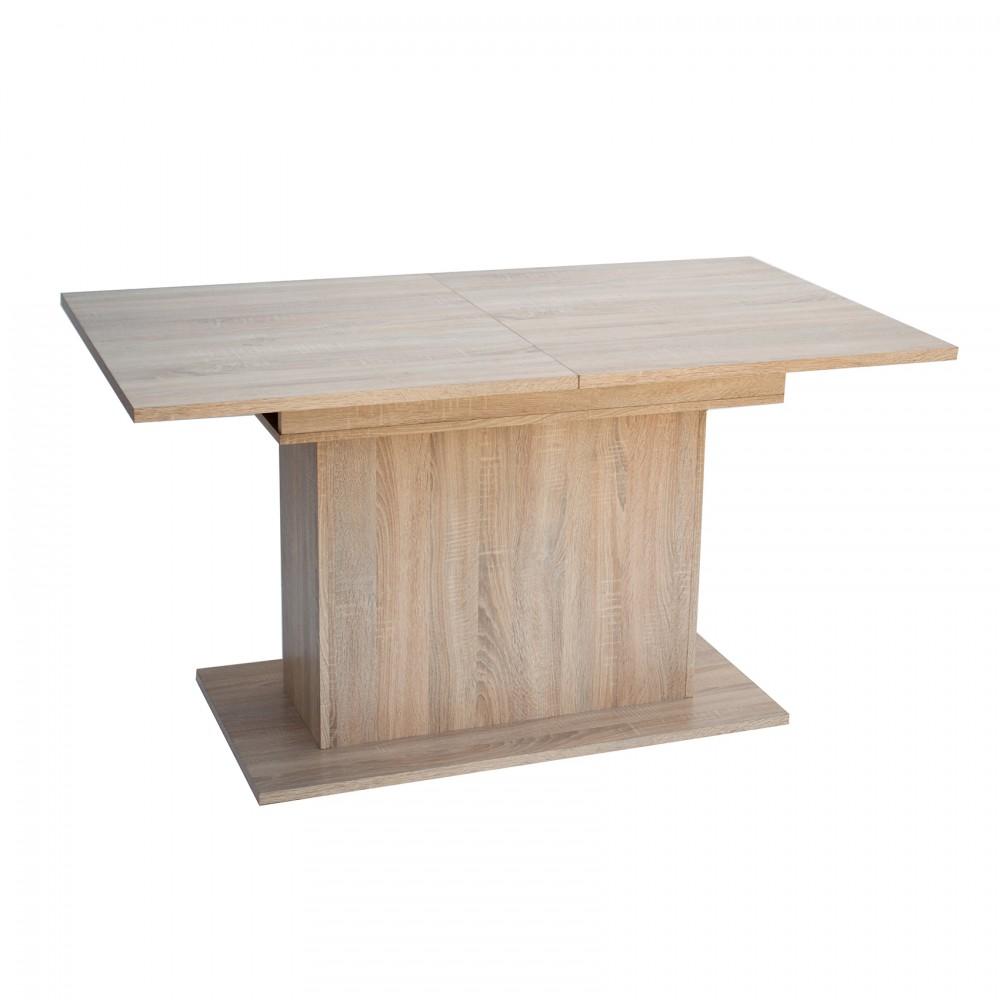 """Τραπέζι φαγητού """"RENO II"""" ανοιγόμενο σε χρώμα σονόμα 140(180)x80x75"""