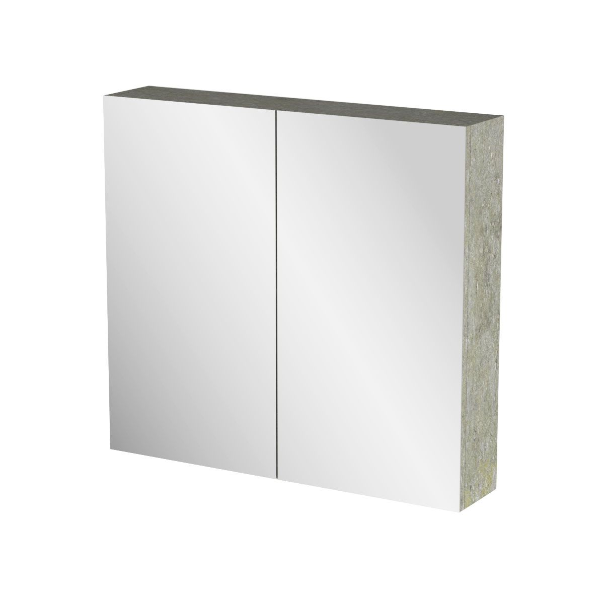 """Καθρέπτης μπάνιου """"ARLENE"""" σε cemento χρώμα 71x14x65"""