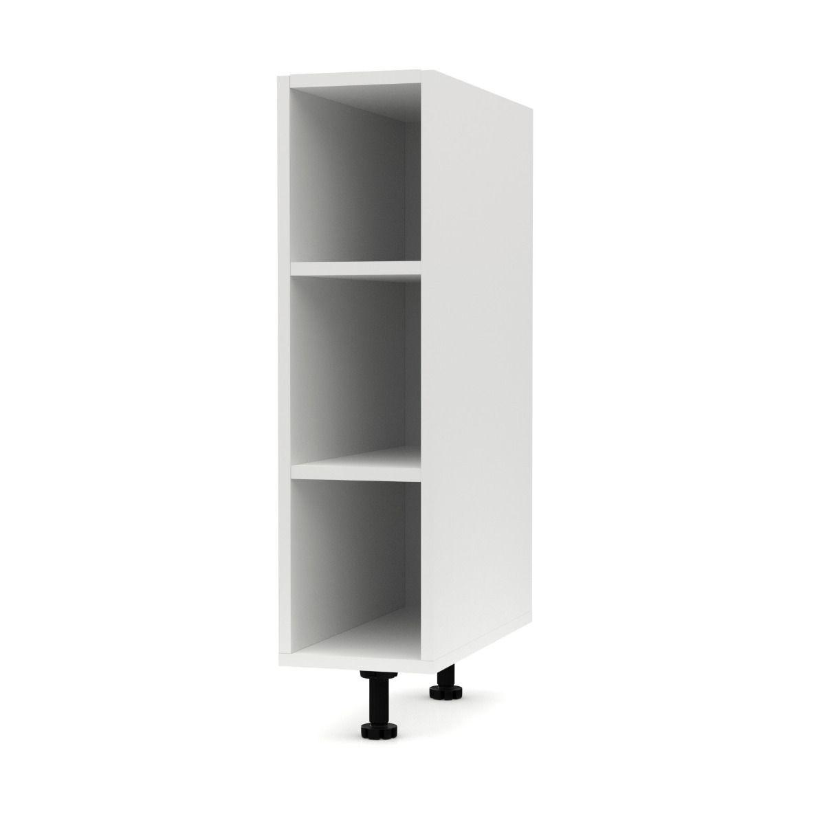"""Κάτω ντουλάπι κουζίνας """"CHARLOTΤE"""" σε χρώμα λευκό 20x60x82"""