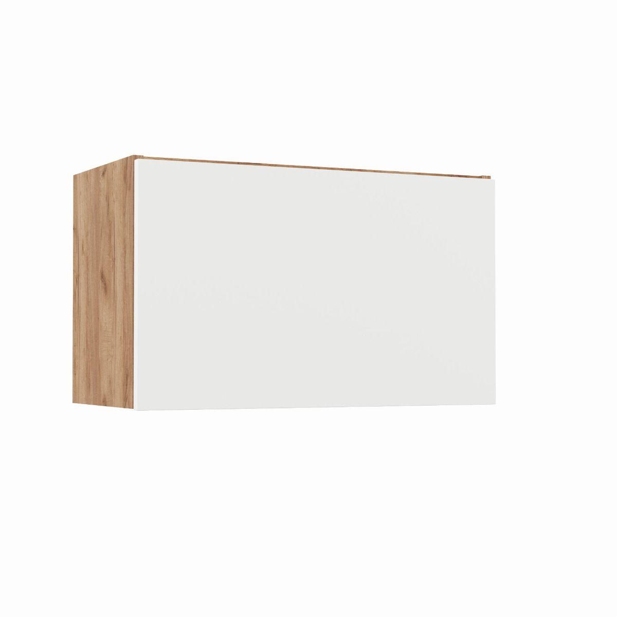 """Ντουλάπι απορροφητήρα """"SOFT"""" σε φυσικό-λευκό χρώμα 60x31x36"""
