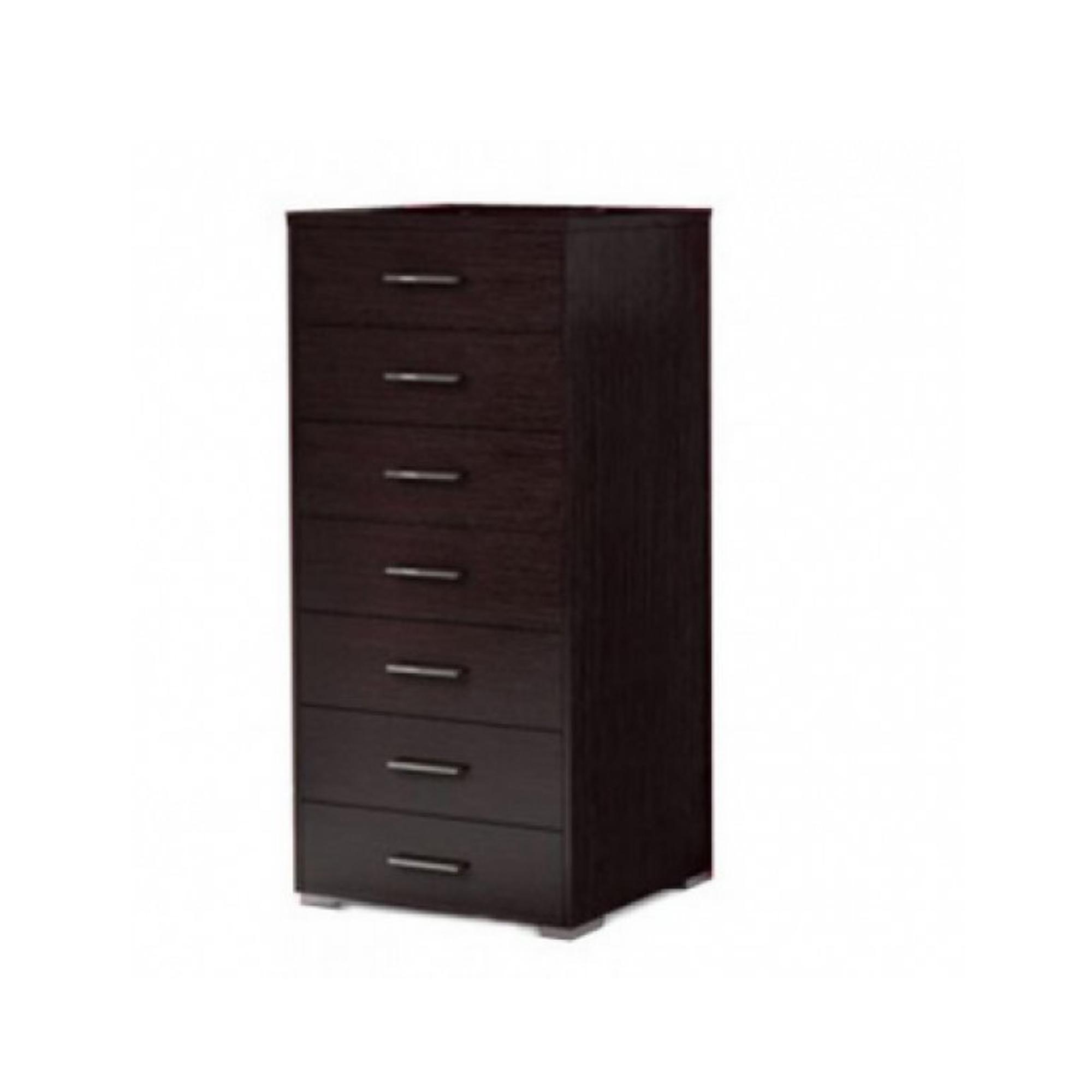 Συρταριέρα με 7 συρτάρια σε χρώμα βέγγε 60x45x123