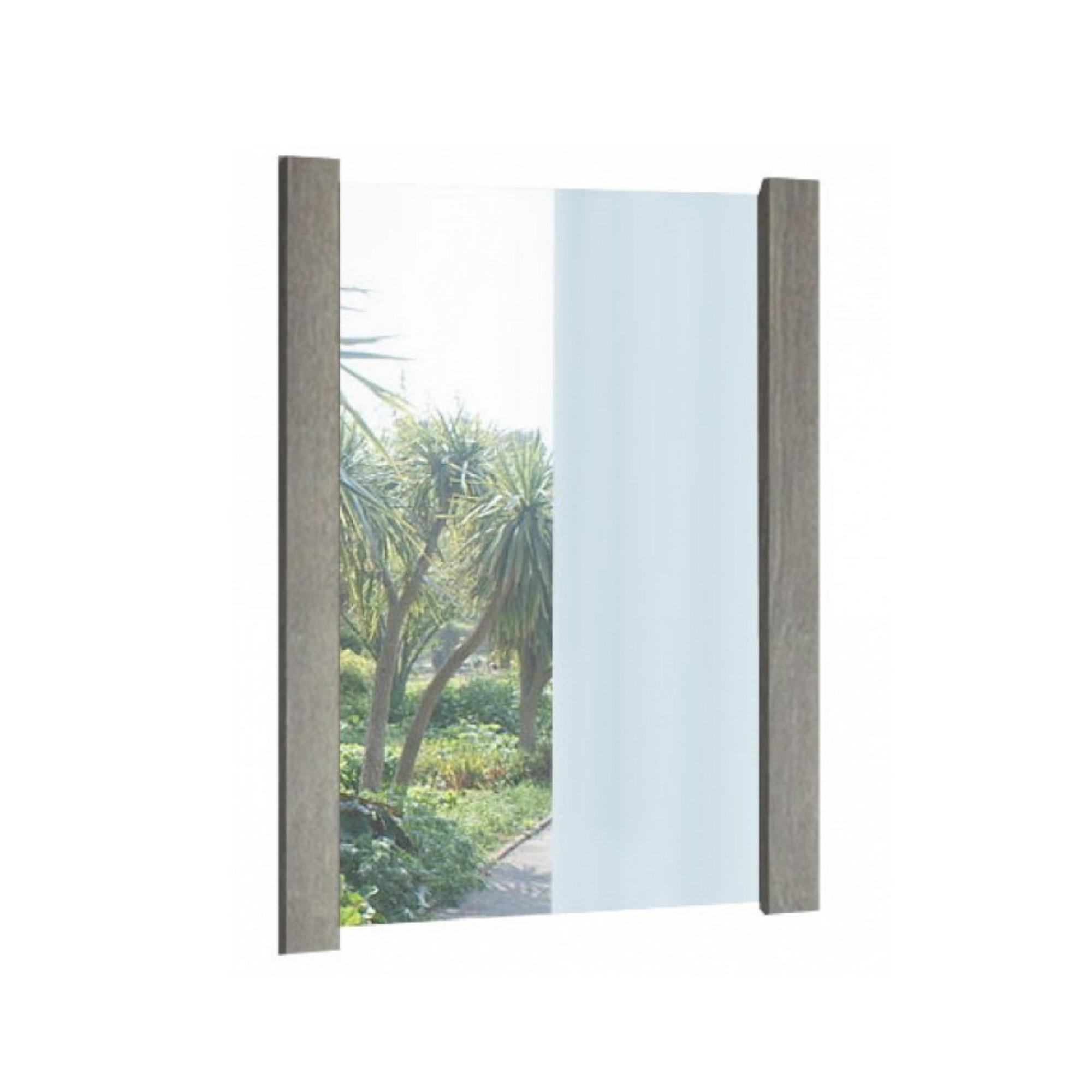 Καθρέπτης σε χρώμα σταχτί 75×90