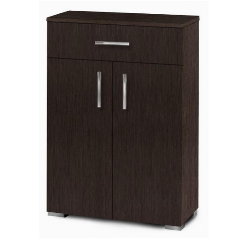 Παπουτσοθήκη-ντουλάπι με ράφια σε χρώμα βέγγε 60x33x92