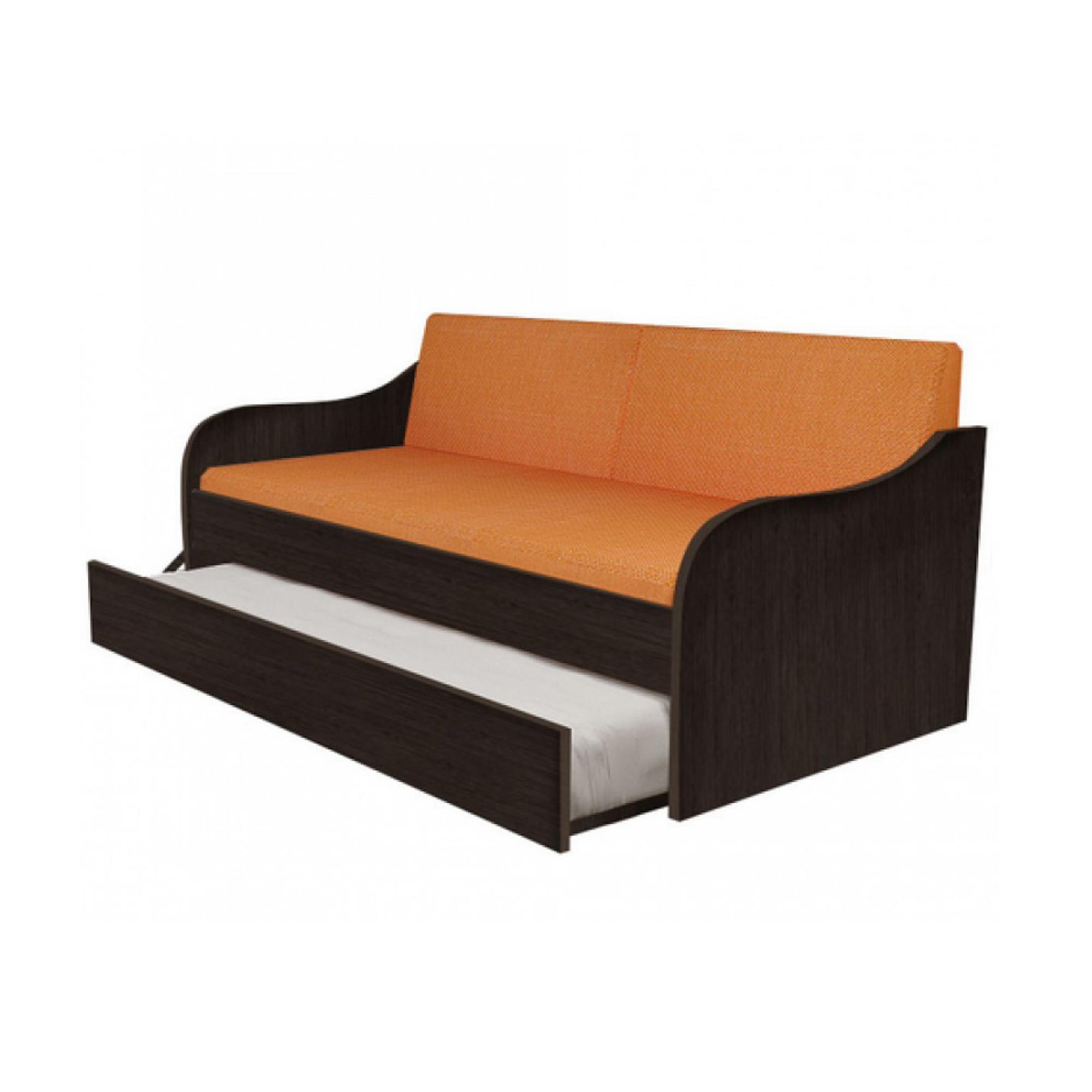 """Κρεβάτι-καναπές """"SILKY"""" με συρόμενο κρεβάτι σε χρώμα βέγγε 80x190"""