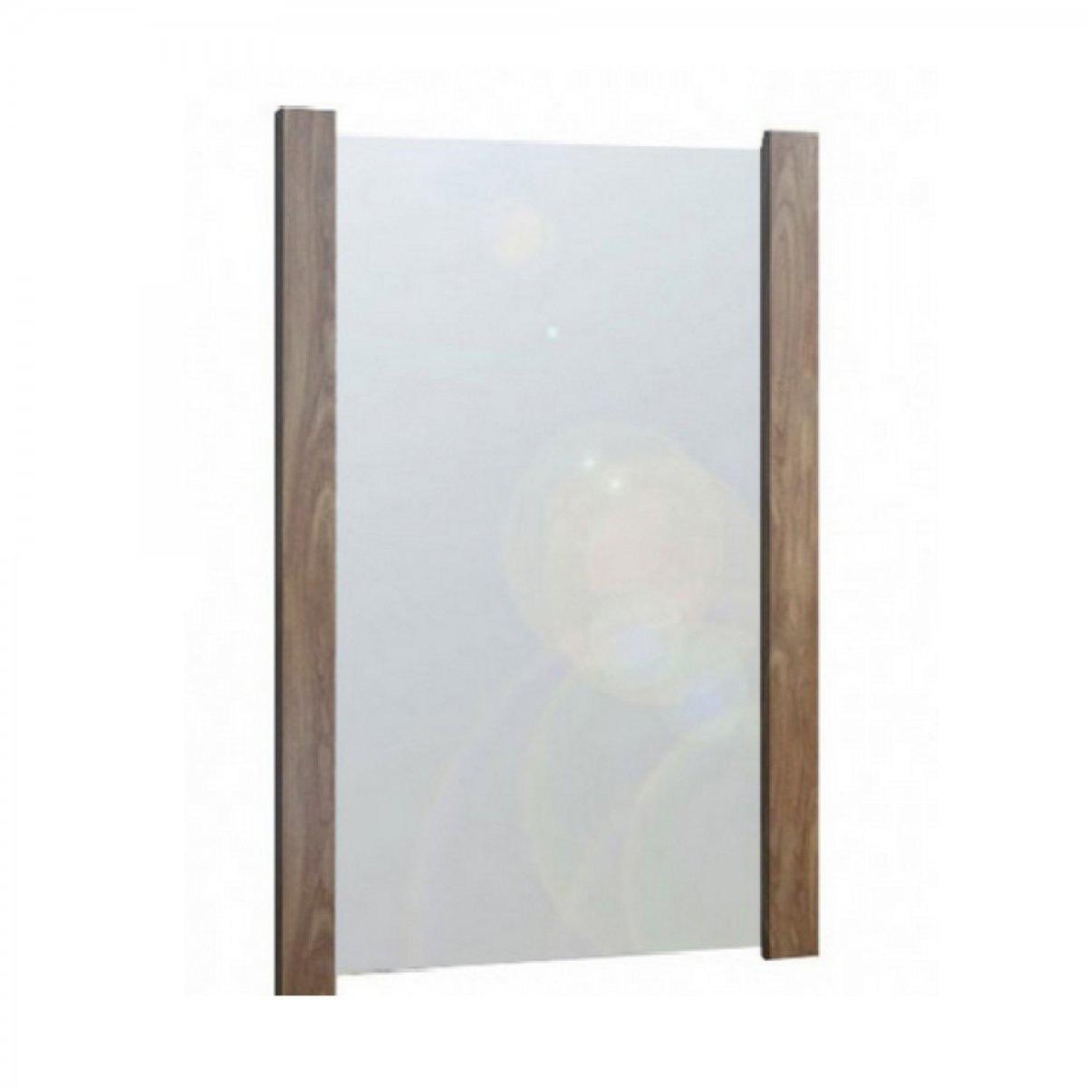 Καθρέπτης σε χρώμα καρυδί 75×90