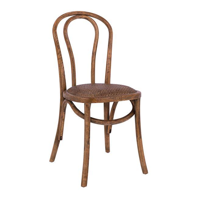 Καρέκλα τύπου βιέννης ξύλινη σε χρώμα φυσικό 40×47,5×89