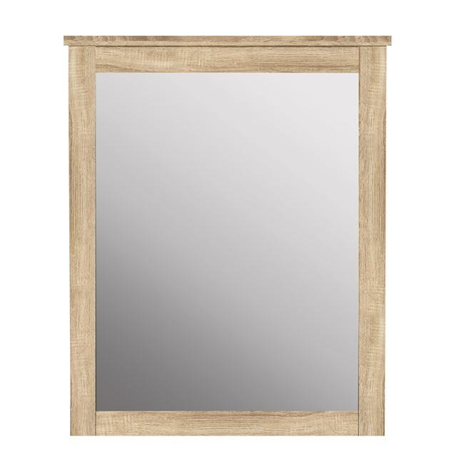 Καθρέπτης τουαλέτας σε χρώμα σονόμα 72×93