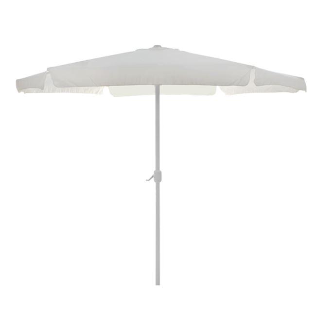 Ομπρέλα αλουμινίου σε χρώμα μπεζ με αναβατόριο Φ3