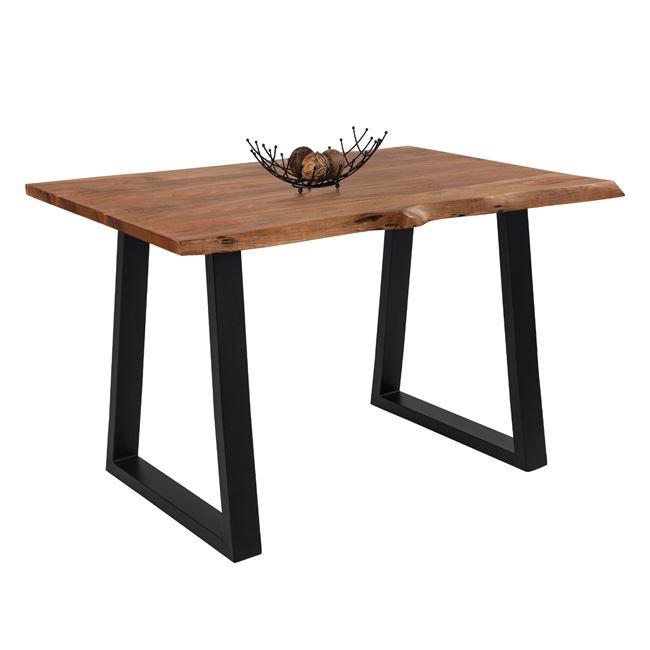 Τραπέζι σταντ από ξύλο ακακίας σε χρώμα φυσικό χρώμα 160x80x95
