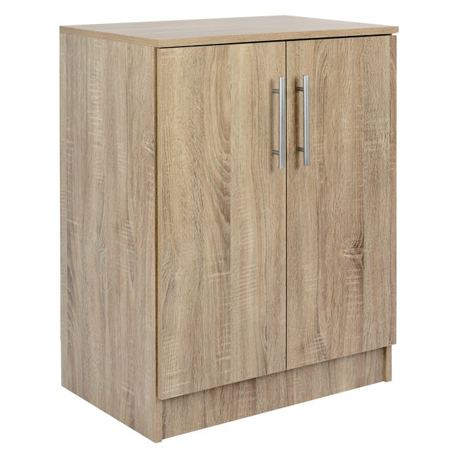 Παπουτσοθήκη-ντουλάπι σε χρώμα σονόμα 60×40,5×80