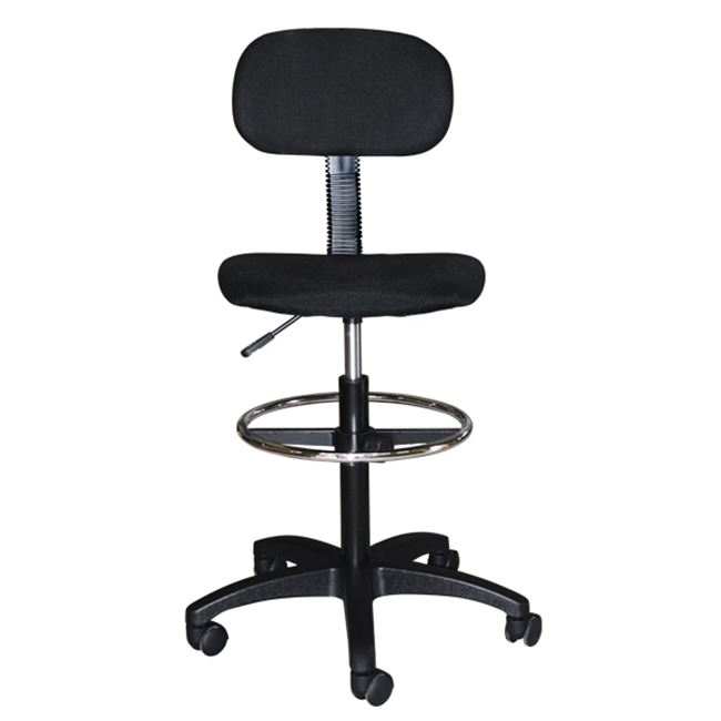 Καρέκλα γραφείου από ύφασμα mesh σε χρώμα μαύρο 45x42x132