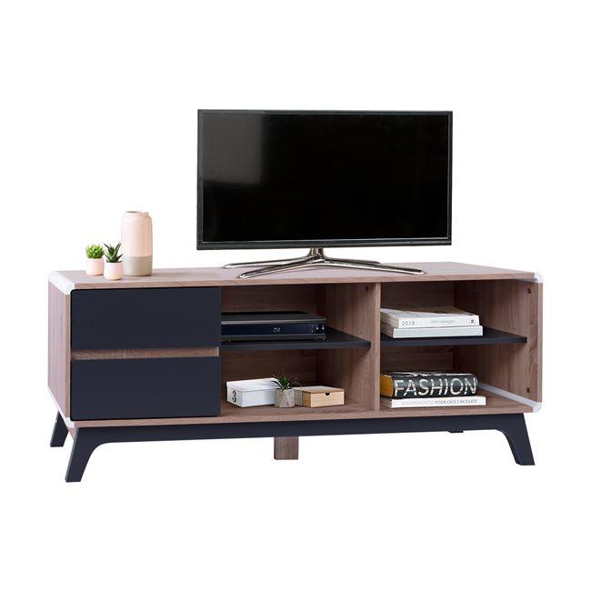 """Έπιπλο τηλεόρασης """"DANTE"""" σε χρώμα γκρι-σονόμα 150x40x53"""