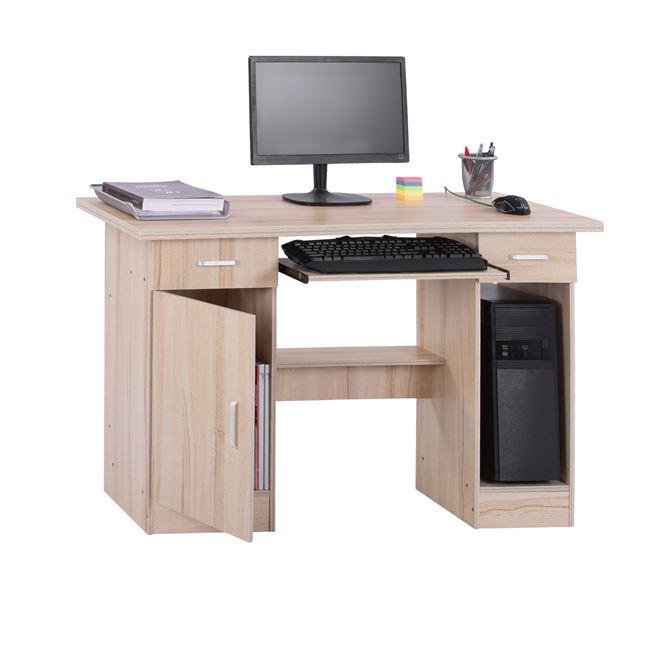 Γραφείο εργασίας σε χρώμα οξιάς 120x50x71,5