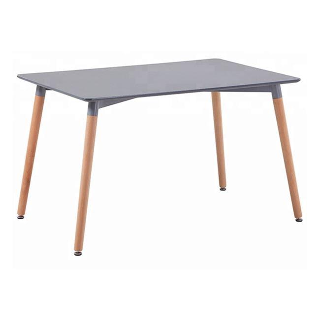 """Τραπέζι """"MINIMAL"""" σε φυσικό/γκρι χρώμα 120x80x73"""