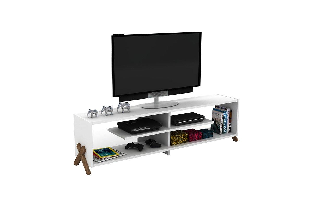 """Έπιπλο τηλεόρασης """"KIPP"""" σε χρώμα λευκό 145x31x39"""