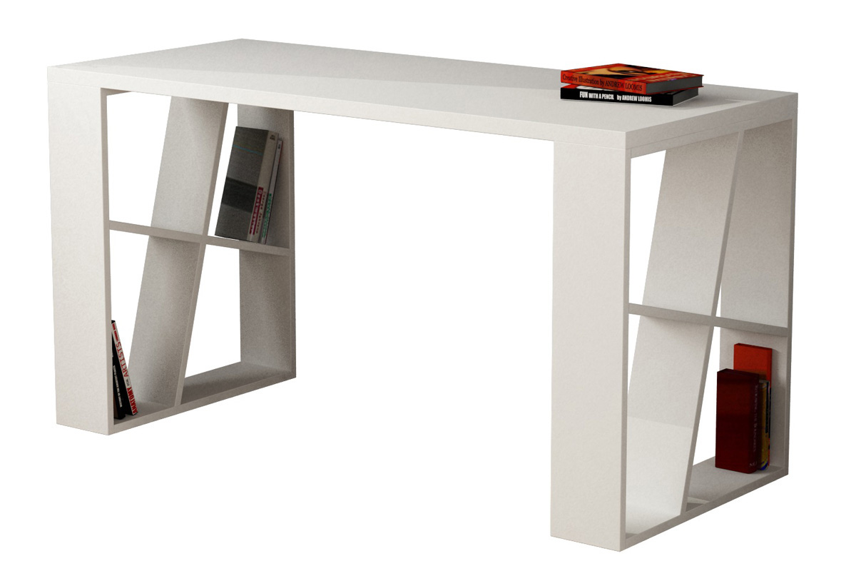 """Γραφείο εργασίας """"HONEY"""" σε χρώμα λευκό 140x60x75"""