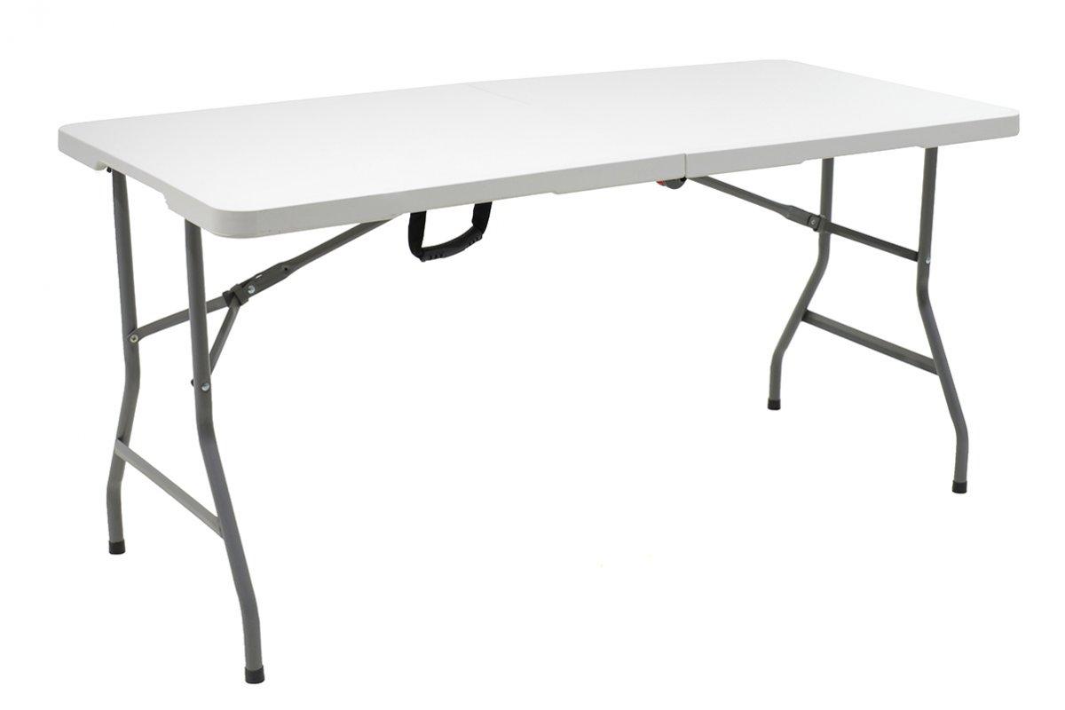"""Τραπέζι catering """"RODEO"""" πτυσσόμενο σε χρώμα λευκό 152x70x74"""