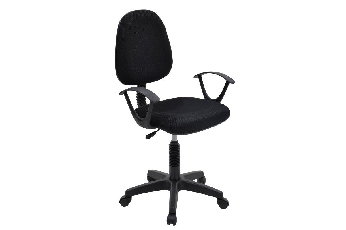 """Πολυθρόνα εργασίας """"MARIA"""" με ύφασμα mesh σε χρώμα μαύρο 63x53x94/108"""